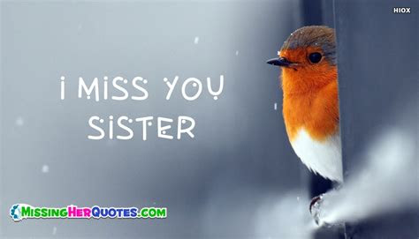 I Miss You Sister Quotes