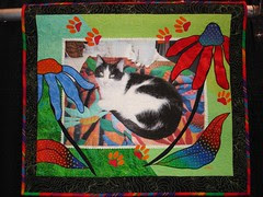 Protrait of a Quilter's Helper