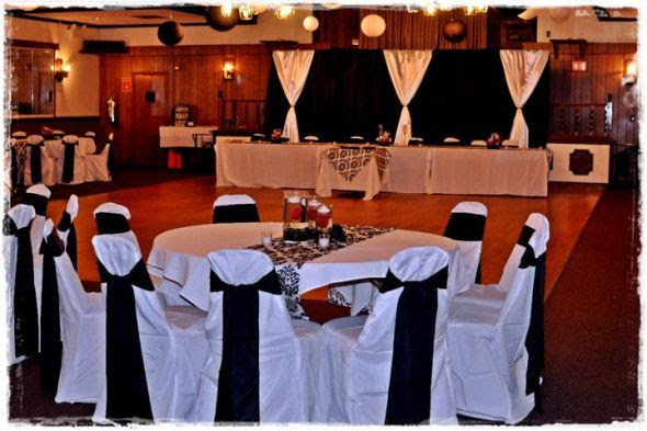 Black And White Wedding Reception Decor Ideas Beloved Blog