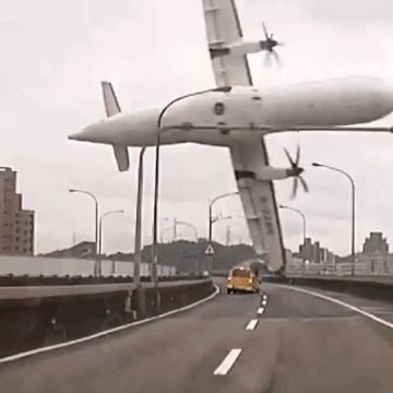 Image:  TransAsia plane crashes on Feb. 4