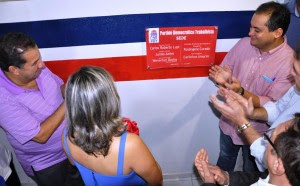 Weverton Rocha inaugura nova sede do PDT na Assembleia