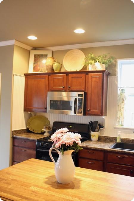 10 Unique Ways to Decorate Your Kitchen Cabinets - Sunlit ...