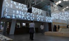 Entry Lights, X exhibition, Shenzhen Graphic Design Association, SenseTeam #design #graphicdesign #typography