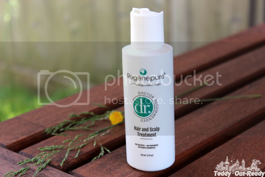 Regenepure DR 4 oz Hair Loss and Dandruff Shampoo