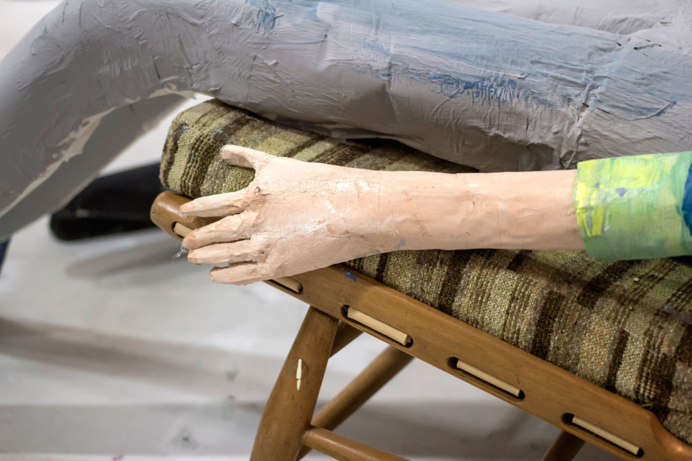 The Bigger Picture: A Life Size Animated Short Blending 2D Painting and 3D Stop Motion stop motion painting animation