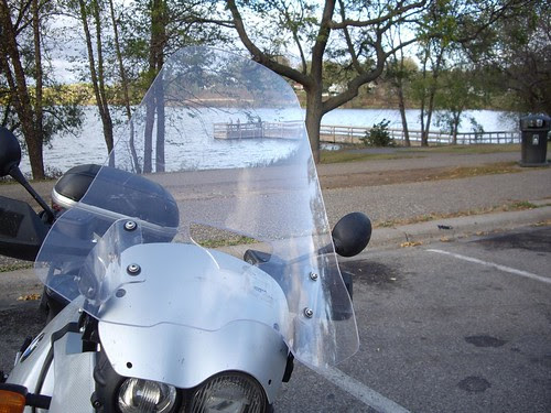 Cal Sci XL Windshield on GS