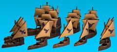 Uncharted seas human fleet 1