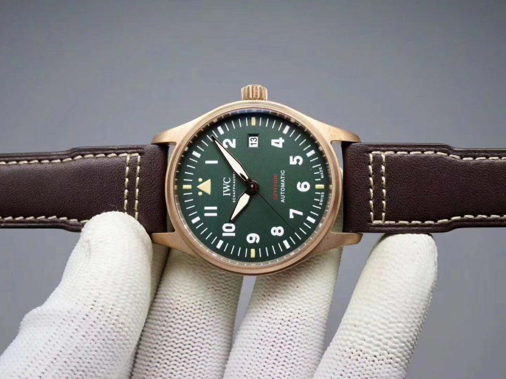 IWC Spitfire Green Dial