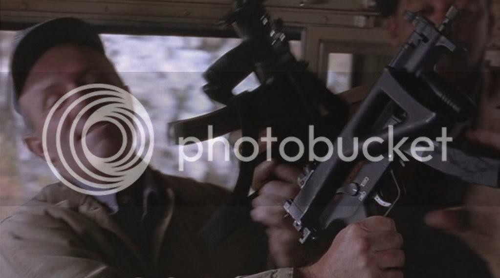 H&K MP5K PDW Close