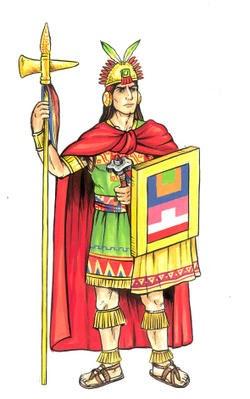 Ilustracionclase Social De Los Incas Toñito Avalos Ilustrador