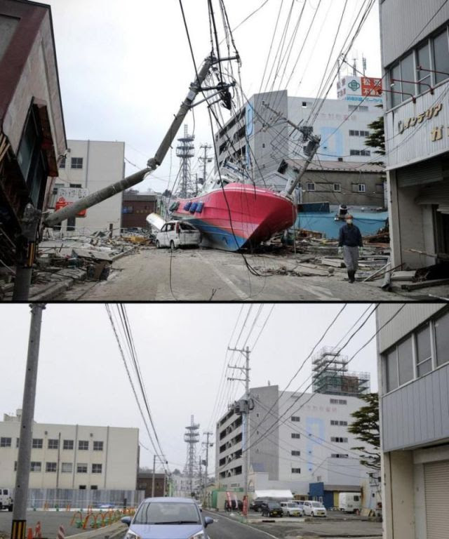 Japan Reconstructed After Tsunami