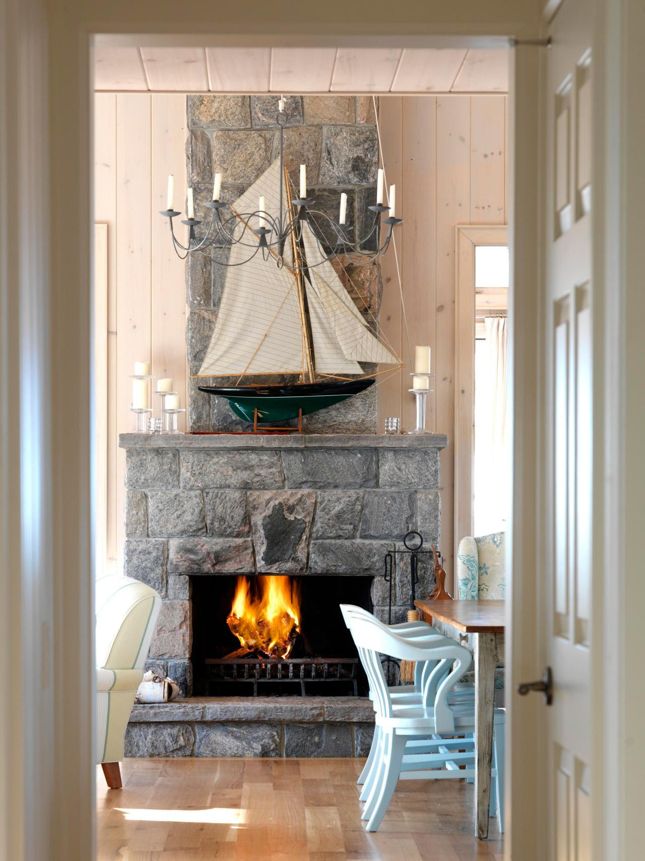 Coastal Living Room Ideas | Living Room and Dining Room ...