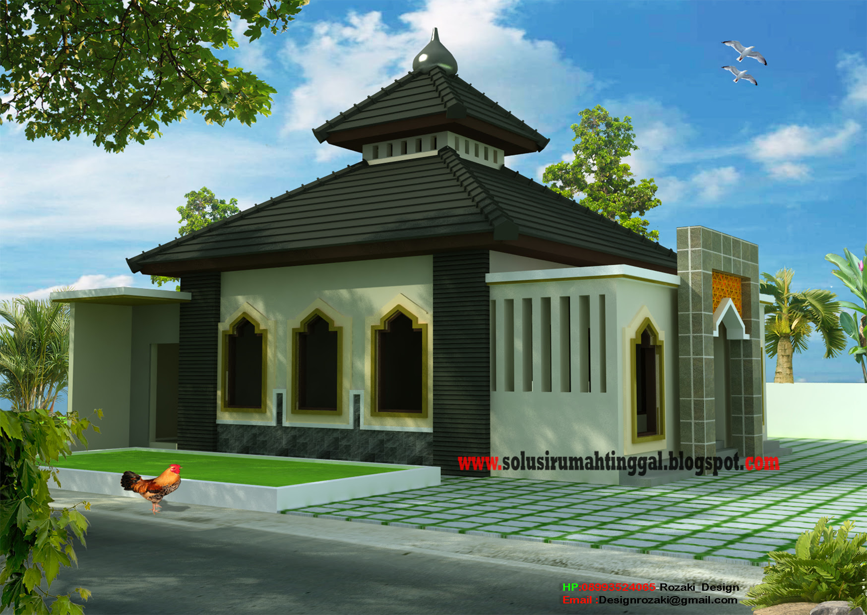 Desain Rumah Minimalis Type 22 60 House Q