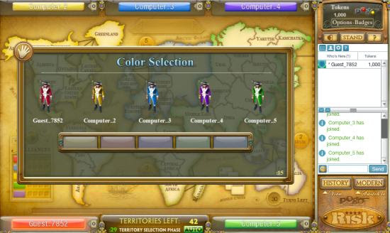 Play Famous Turn Based Strategy Board Game online: Risk