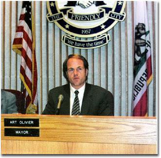 Mayor Art Olivier