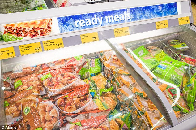 Danger foods: Frozen foods which are made from many ingredients, such as ready-meals, contain trans fats