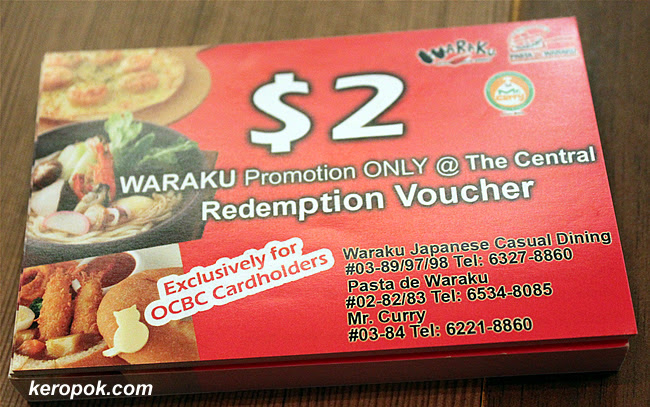 The waraku 100% rebate vouchers