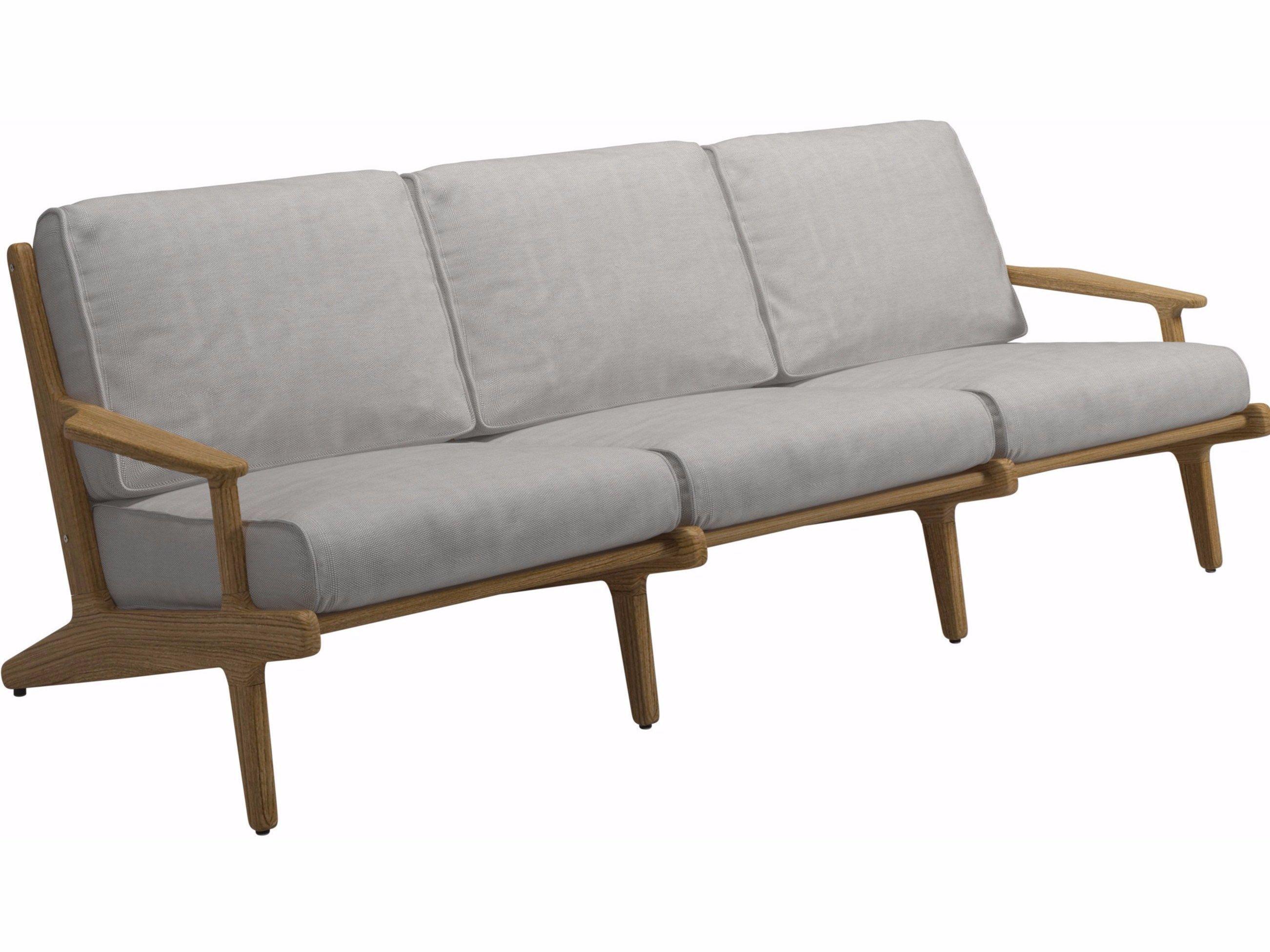 BAY 3 seater garden sofa by Gloster design Henrik Pedersen