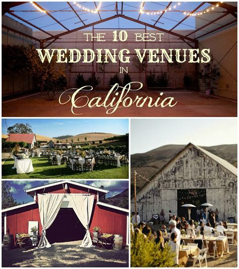 The 10 Best Rustic Wedding Venues In California   Rustic