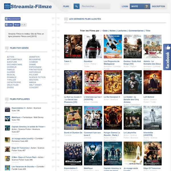 Streamiz Filmze  Films en Streaming 100% Gratuit !  Pearltrees