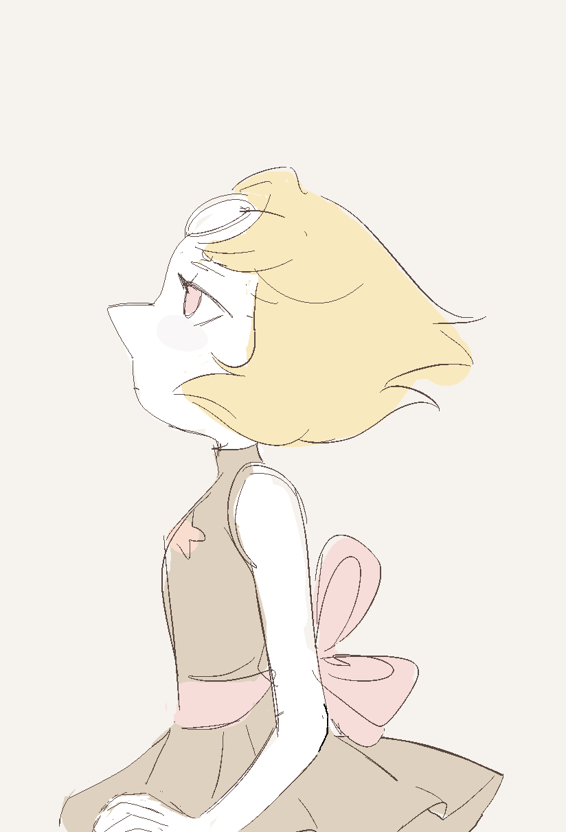 old pearl drawing