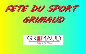 Fête du sport Grimaud 2015