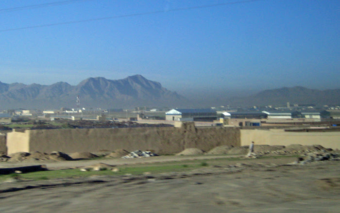 Last View of Kabul