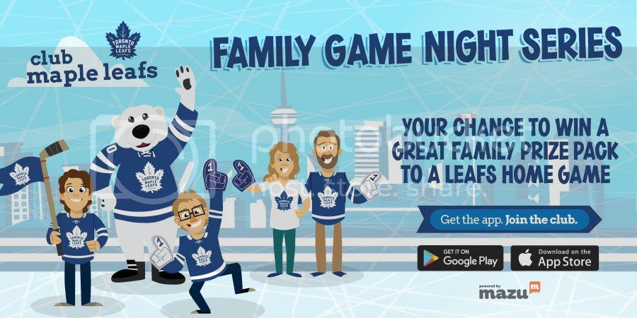 Family Game Night Leafs