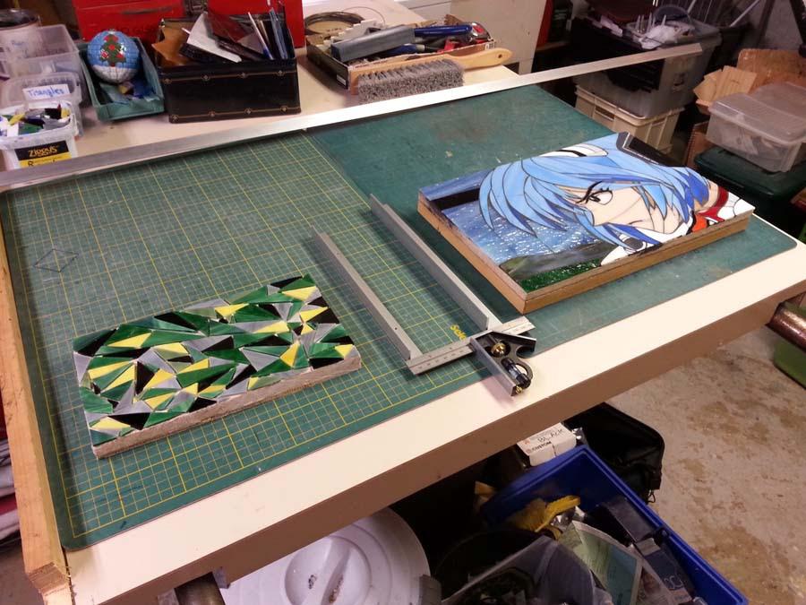 How To Make An Aluminum Frame Mosaic Art Supply