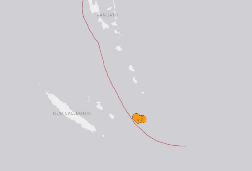 3 ισχυροί σεισμοί χτύπησαν τη Νέα Καληδονία μπορεί να 19 2019, 3 ισχυροί σεισμοί χτύπησαν Νέα Καληδονία μπορεί να 19 2019 χάρτη, 3 ισχυροί σεισμοί χτύπησαν Νέα Καληδονία μπορεί 19 2019 φωτογραφία