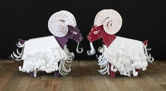 Papercraft Tiere Vorlagen Zum Ausdrucken