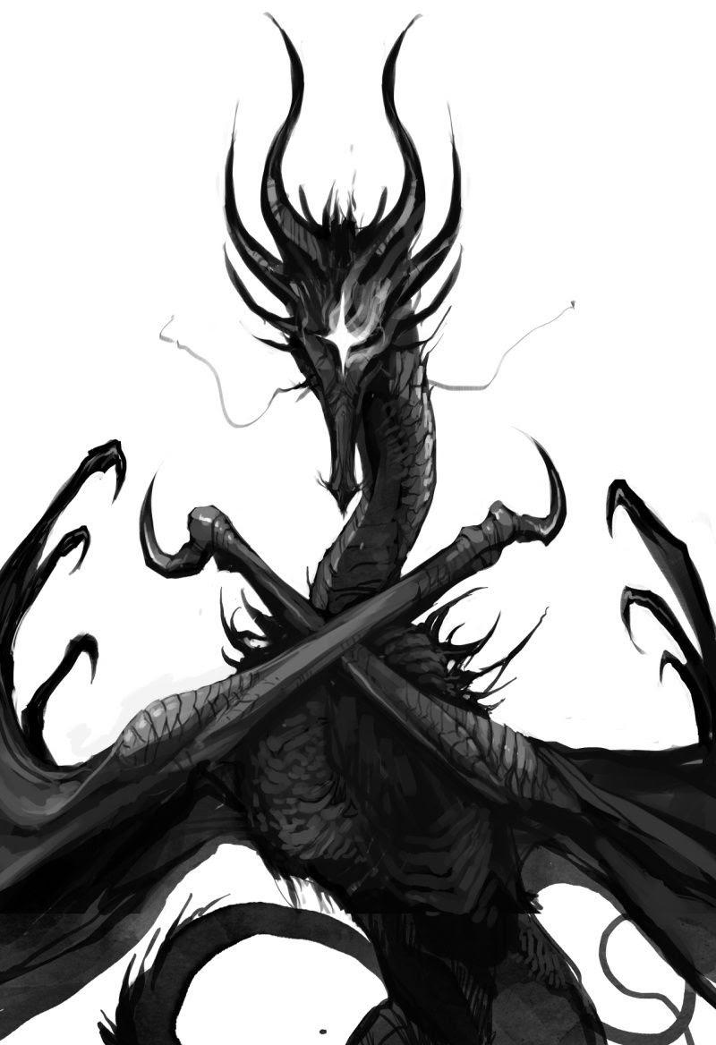 Kalameet the Black Dragon