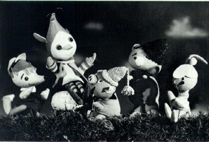 Mazsola és barátai a hatvanas években
