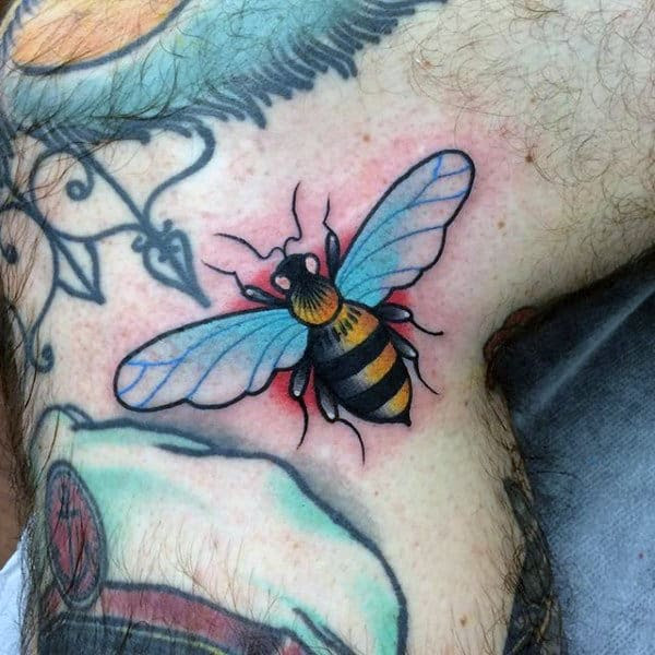 50 Bee Tattoo Designs For Men A Sting Of Ink Ideas