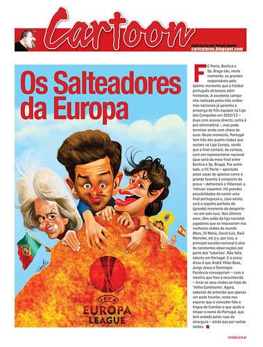 Os-Salteadores-da-Europa by caricaturas