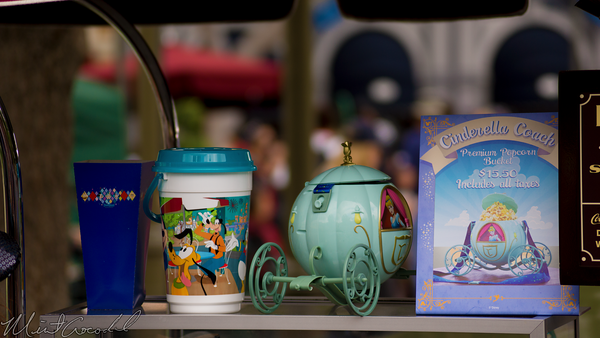 Disneyland Resort, Disneyland60, 60, Anniversary, 24, Hour, Party, Celebration, Kick, Off, Disneyland, Main Street U.S.A., Cinderella, Popcorn, Bucket, Coach