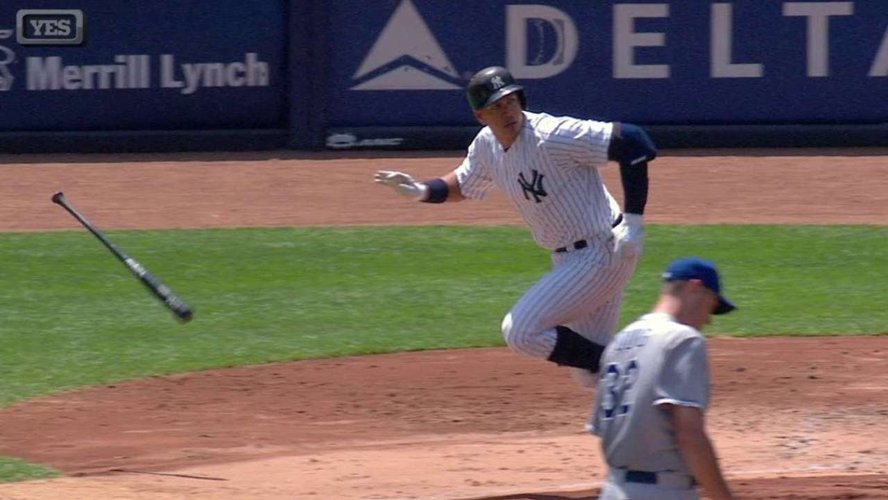 A-Rod supera a Gehrig en remolcadas de por vida