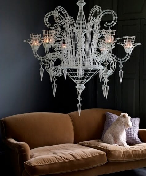 interior-glam lighting