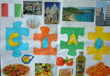 Hello from Italy! - online jigsaw puzzle - 40 pieces