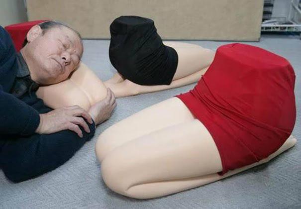 Woman's Lap Pillow