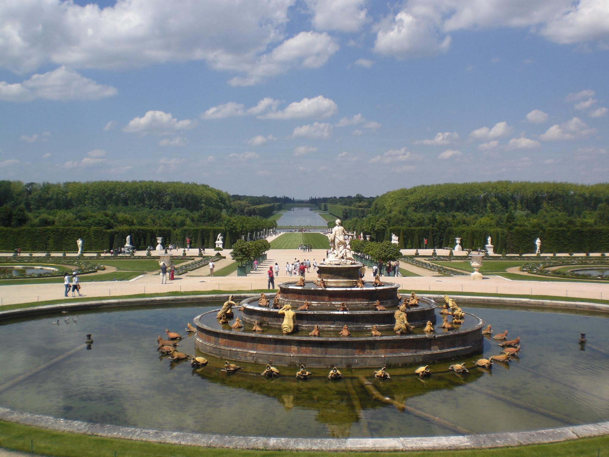 Lesjardins Du Chteau De Versailles Youtube
