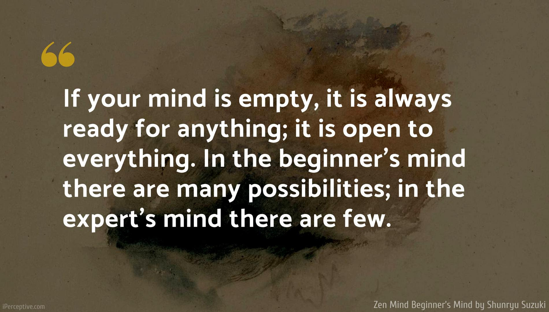 If Your Mind Is Empty It Is Always Shunryu Suzuki 1900x1080