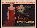 Watch Full Payment on Demand 1951 HD Movie Online