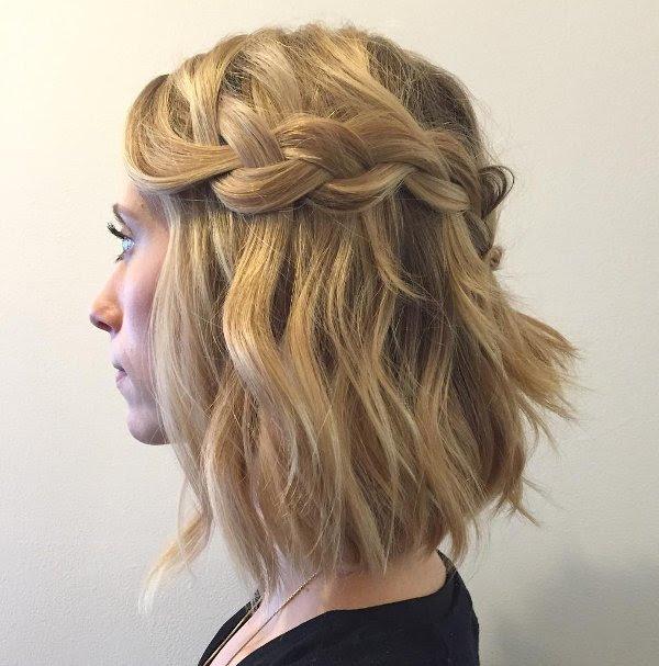 Wasserfall Frisur Kurze Haare 6 Allefrisurende