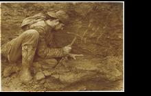 Escavação de Dacentrurus armatus, Torres Vedras, 1995