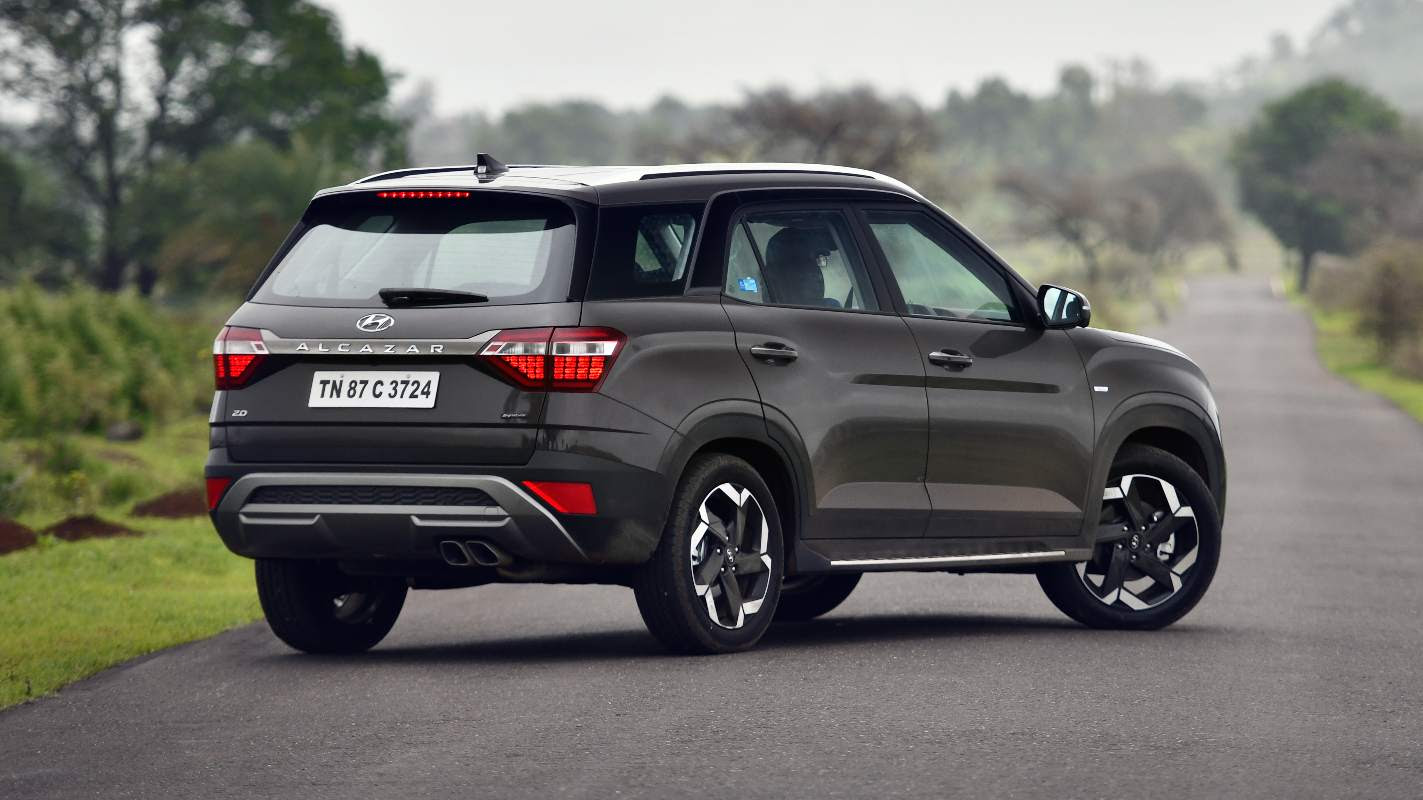 It is a bigger Creta, but the Alcazar has enough changes on the outside to differentiate itself. Image: Hyundai