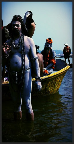 The Ganges Washes The Soul Of The Naga Sadhus - Maha Kumbh by firoze shakir photographerno1