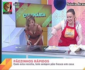Sónia Araujo sensual no Praça e nos directos da Rtp