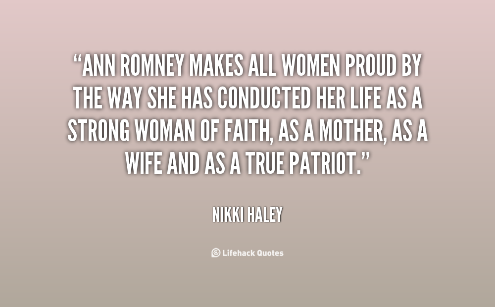 Quotes About Proud Woman 52 Quotes