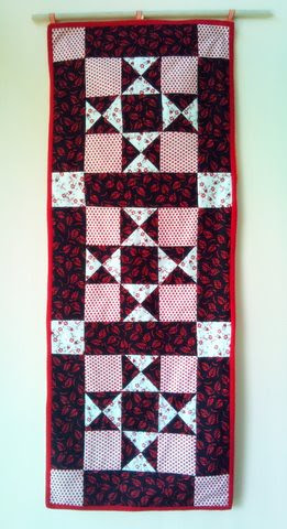 ohio star table runner